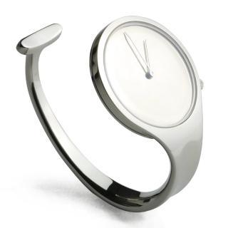 【Georg Jensen 喬治傑生】Vivianna 朵蘭 226凸面玻璃手鐲腕錶-34mm