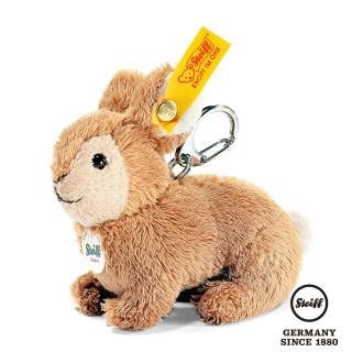 【STEIFF德國金耳釦泰迪熊】Keyring Rabbit 兔子(經典吊飾_黃標)