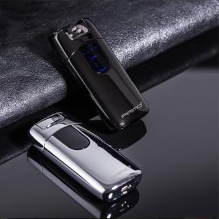 【吉米生活】PRIMO 懸空式感應 USB充電 防風打火機 電子點煙器(附USB充電線)