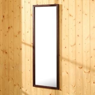 【BuyJM】艾莉實木壁鏡/穿衣鏡(高95公分)