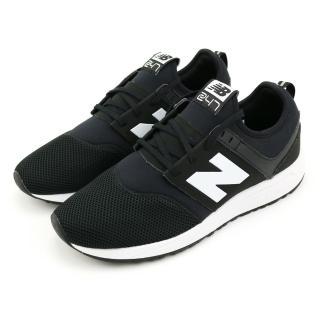 【NEW BALANCE】TIER 2 復古鞋 黑-MRL247BG-D(男女休閒鞋)