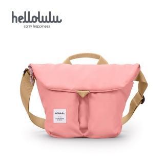 【hellolulu】Kasen 輕旅戶外側背包-淺粉紅(50147-74)