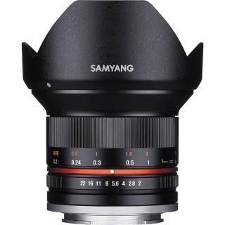 【韓國SAMYANG】12mm F2  APS-C 微單眼手動鏡頭(公司貨 Sony-E接環)
