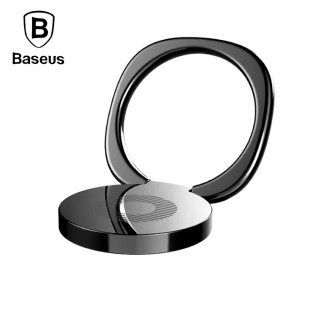 【iDeatry】正品Baseus倍思 金屬質感手機指環支架 手機扣環 指環支架 手機支架 磁吸指環扣 車載支架(支架)