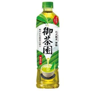 【御茶園】日式綠茶- 無糖 550ml(24入/箱)