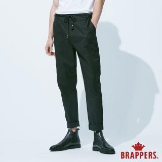 【BRAPPERS】男款 鬆緊帶運動八分褲(黑)