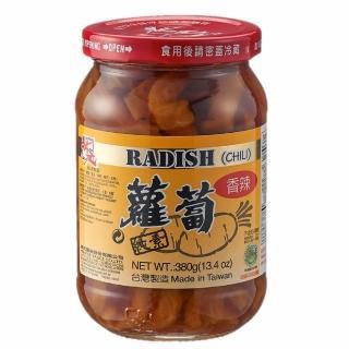 【狀元醬油】狀元香辣蘿蔔380g