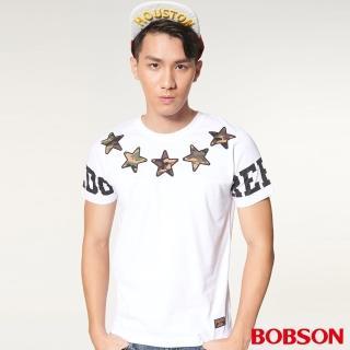 【BOBSON】男款印圖上衣(27014-80)