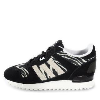 【adidas 愛迪達】Adidas ZX 700    男鞋 運動 休閒 潮流 黑 白 斑馬 愛迪達(B34331)