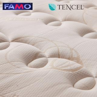 【FAMO 法摩】天絲蠶絲抗菌硬式獨立筒床墊(雙人5尺)-618限定防疫好眠