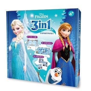 3in1冰雪奇緣系列桌遊 II