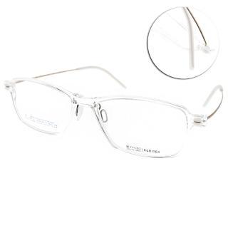 【VYCOZ 光學眼鏡】薄鋼工藝 復古方框(透明-淡金#NORITER CRT)