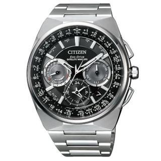 【CITIZEN 星辰】GPS定位對時光動能旗艦腕錶45mm(CC9009-81E)