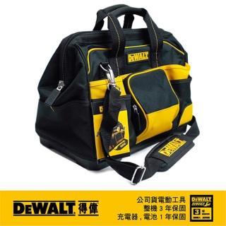 【DEWALT 得偉】美國 得偉 DEWALT 16英吋 大開口工具袋 DWST74727-8(DWST74727-8)