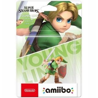 【Nintendo 任天堂】amiibo公仔 小孩林克(明星大亂鬥系列)