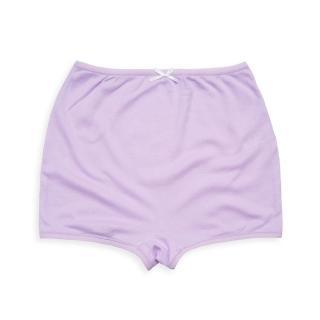 【annypepe】兒童內褲 天絲棉女童四角褲-粉紫