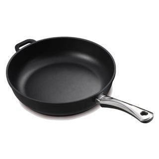 【德國寶迪Berndes】Titanium系列黑鑽鈦金不沾鍋深炒鍋32cm
