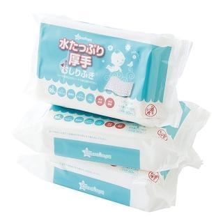 【西松屋】Smart Angel 加厚60抽濕紙巾(3包入)