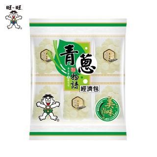 【旺旺】青蔥物語經濟包 240g(養生米果米餅 人氣辦公室休閒零食 全素非油炸小包裝)