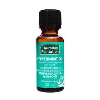 【ThursdayPlantation 星期四農莊】薄荷精油25ml(100% 澳洲產精油)