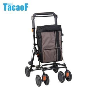 【TacaoF幸和】時尚購物助步車-棕色