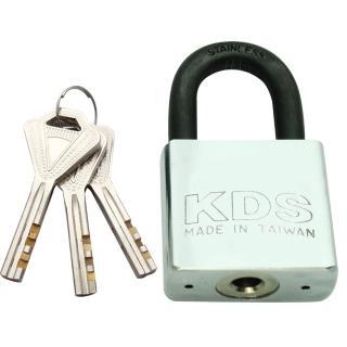 【金便利KDS】短鉤四角頭白鐵鎢鋼鎖 30mm(掛鎖 鎖頭 銅掛鎖)