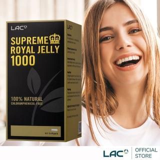 【GNC 健安喜】LAC 速沛蜂王乳膠囊食品60顆(高純度/蜂華再現/金色奇蹟)