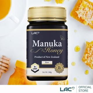 【GNC 健安喜】LAC 麥蘆卡蜂蜜UMF 8+ 500公克(紐西蘭UMF蜂蜜協會認證/保健等級/全民抗疫)