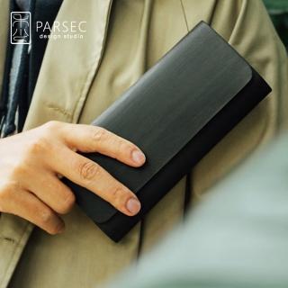 【PARSEC】樹革黑檀長夾