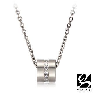 【MASSA-G】LJ系列Muse謬斯之輪金屬鍺錠純鈦項鍊