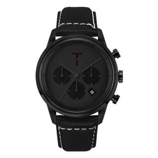 【TYLOR】急速潮流三眼腕錶-黑(TLAC006)