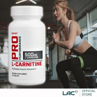 【GNC 健安喜】卡妳婷食品錠60顆(L-carnitine肉酸/L肉鹼)