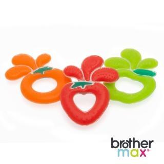 【Brother Max】安撫矽膠啃咬環(柳橙汁/蘋果汁/草莓汁)