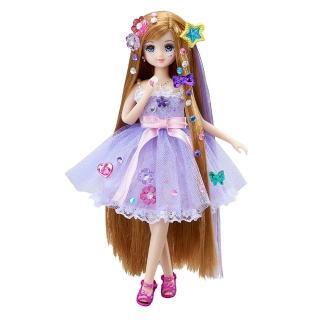 【TAKARA TOMY】莉卡娃娃 寶石長髮凱倫娃娃(女孩 洋娃娃)