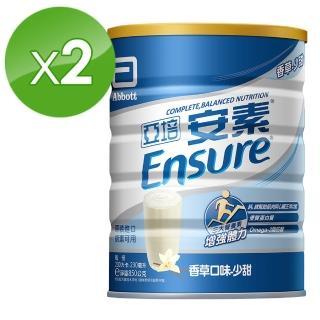 【亞培】安素優能基均衡營養配方香草口味-少甜(850g