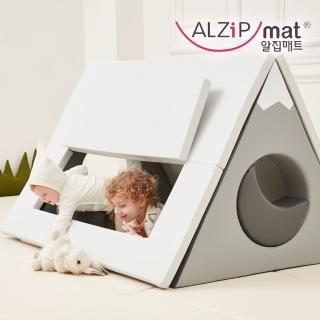 【ALZiPmat】韓國 HOUSE TENT SET 小屋帳篷 遊戲墊 -(北歐小山)