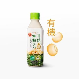 【統洋TOPMOST】有機無糖濃豆乳360ml*12入