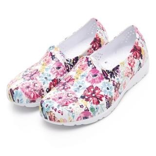【PONY】EVA輕量軟Q透氣水陸兩用洞洞鞋 涼鞋 拖鞋 雨鞋 女鞋 9色