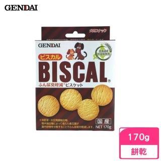 【GENDAI 現代】BISCAL 必吃客消臭餅乾 170g