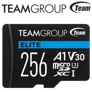 【Team 十銓】256GB ELITE microSDXC TF UHS-I U3 A1 V30 記憶卡