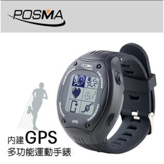 【Posma W2】多功能GPS運動錶 速度 高度 運動軌跡 競賽模式  帶ANT+可接心跳帶 踏頻器作騎行用