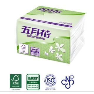 【MAY FLOWER 五月花】抽取式餐巾紙(200張*60包)