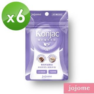 【jojome】專利魔芋萃取膠囊(6袋入)