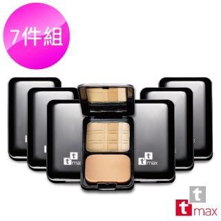 【ttmax】光柔礦物3D水粉餅組(超值7入組)