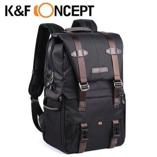 【K&F Concept】時尚者 專業攝影單眼相機後背包-黑(KF13.092)