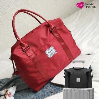 【Cap】韓系肩揹行李拉桿包