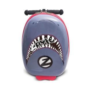 【Zinc Flyte】18吋多功能滑板車行李箱-鯊魚戰士(滑板車、行李箱)