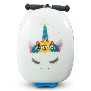 【Zinc Flyte】18吋多功能滑板車行李箱-克洛伊獨角獸(滑板車、行李箱)