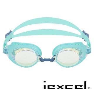 【iexcel】專業光學度數泳鏡 VX-957(蜂巢式 電鍍)