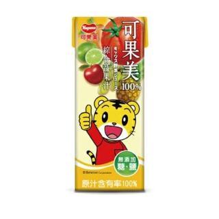 【光泉】可果美蕃果園 100%綜合蔬果汁(可果美蕃果園 100%綜合蔬果汁200ml-24入)